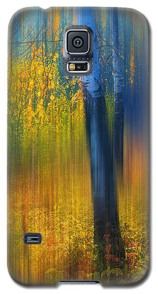 In The Golden Woods. Impressionism Galaxy S5 Case