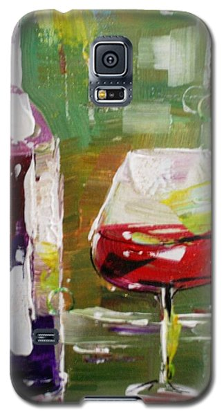 In Vino Veritas. Wine Collection Galaxy S5 Case