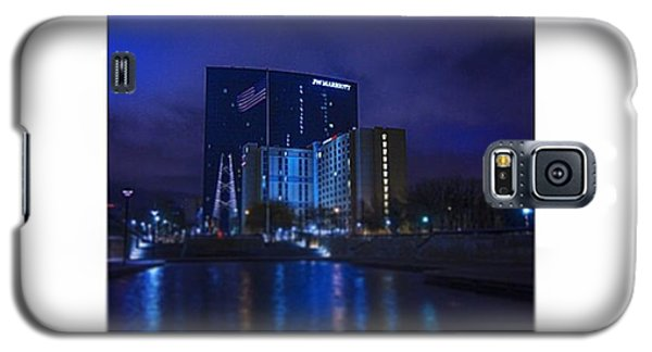 #indiana #indy #indianapolis #nap Town Galaxy S5 Case by David Haskett