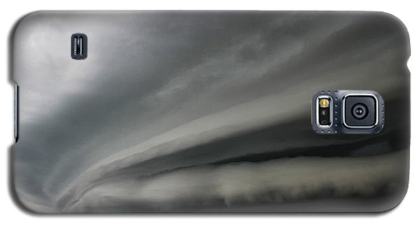 Galaxy S5 Case featuring the photograph Intense Shelf Cloud by Ryan Crouse