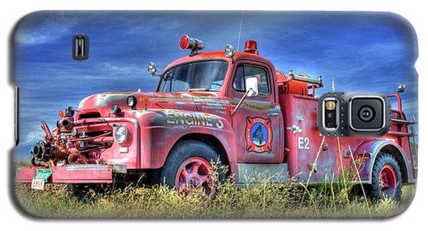 International Fire Truck 2 Galaxy S5 Case