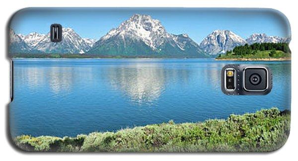 Jackson Lake Teton Panorama Galaxy S5 Case