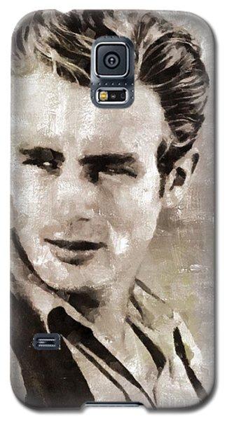 James Dean Hollywood Legend Galaxy S5 Case by Mary Bassett