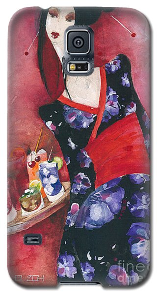 Japanese Girl Galaxy S5 Case by Maya Manolova