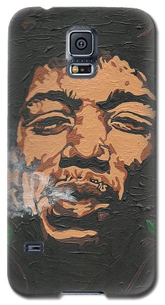 Jimi Hendrix Galaxy S5 Case by Rachel Natalie Rawlins