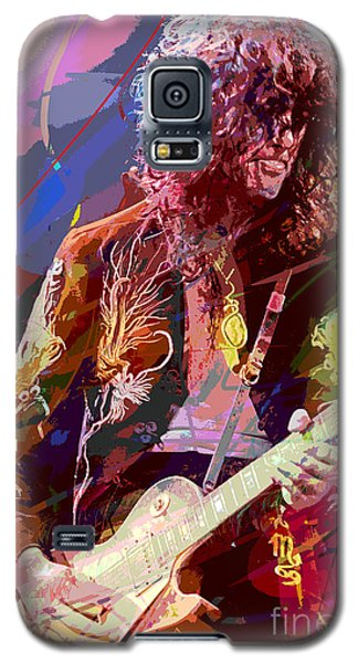 Jimmy Page Les Paul Gibson Galaxy S5 Case
