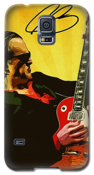 Eric Clapton Galaxy S5 Case - Joe Bonamassa by Semih Yurdabak