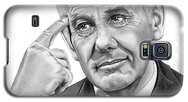 Johnny Carson Galaxy S5 Case - Johnny Carson by Murphy Elliott