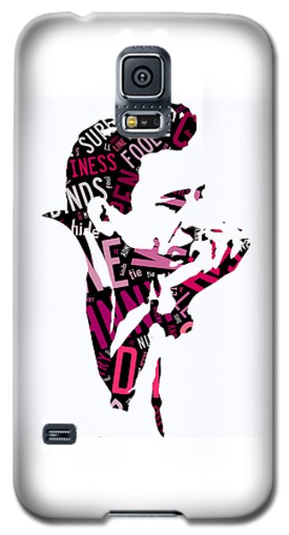 Johnny Cash Song Lyric I Walk The Line Galaxy S5 Case