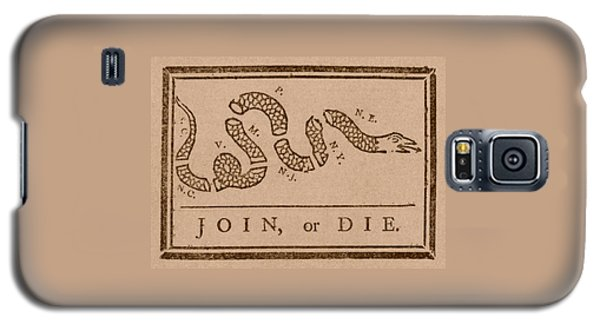 Join Or Die Galaxy S5 Case by War Is Hell Store