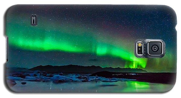 Jokulsarlon Aurora Galaxy S5 Case
