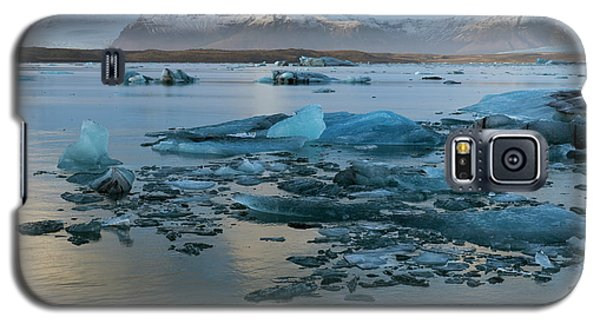 Galaxy S5 Case featuring the photograph Jokulsarlon, The Glacier Lagoon, Iceland 5 by Dubi Roman