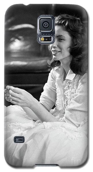 June Carter, 1956 Galaxy S5 Case by The Harrington Collection