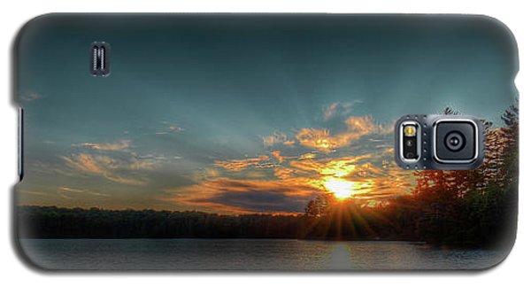 June Sunset On Nicks Lake Galaxy S5 Case by David Patterson