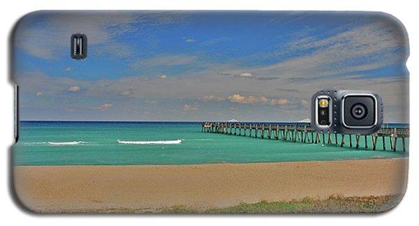 Galaxy S5 Case featuring the photograph 1- Juno Beach Pier by Joseph Keane