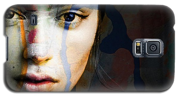 Galaxy S5 Case featuring the mixed media Just Like A Woman by Paul Lovering