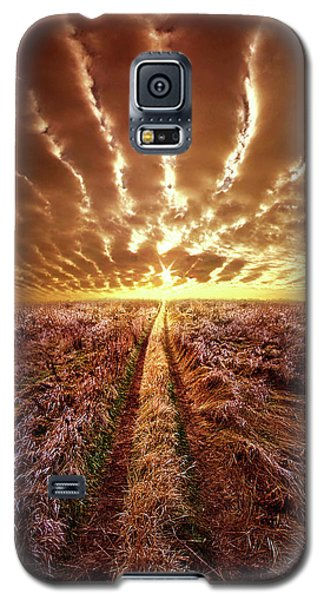 Galaxy S5 Case featuring the photograph Just Over The Horizon by Phil Koch