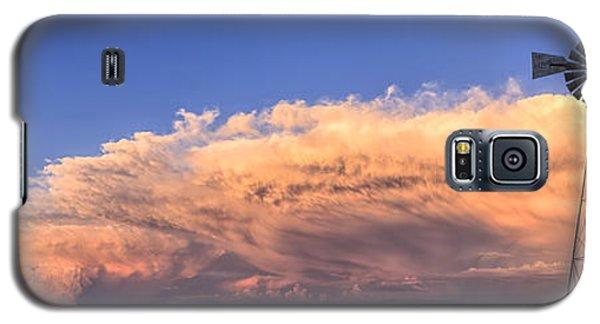 Kansas Storm And Windmill Galaxy S5 Case