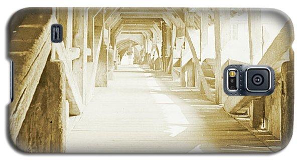 Kapell Bridge, Lucerne, Switzerland, 1903, Vintage, Photograph Galaxy S5 Case