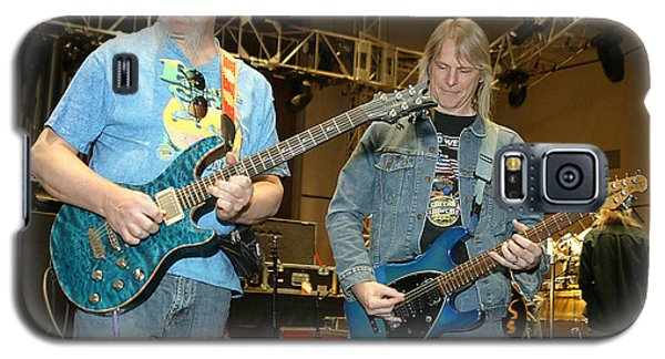 Galaxy S5 Case featuring the photograph Kerry Livgren And Steve Morse Kansas by Don Olea