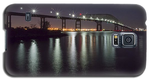 Key Bridge At Night Galaxy S5 Case by Brian Wallace