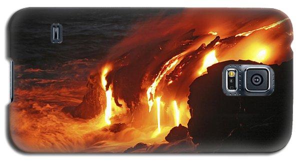 Kilauea Lava Flow Sea Entry, Big Galaxy S5 Case