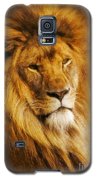 Galaxy S5 Case featuring the digital art King Of The Beasts by Ian Mitchell
