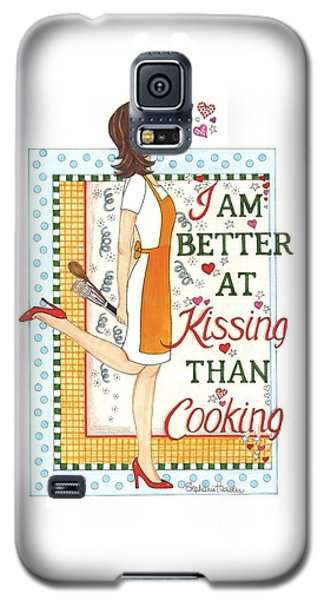 Kissing Cooking Galaxy S5 Case