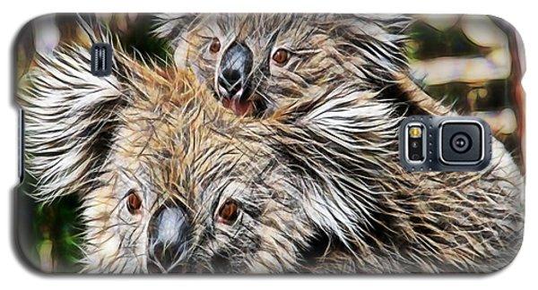 Koala Bear Mom And Child Galaxy S5 Case