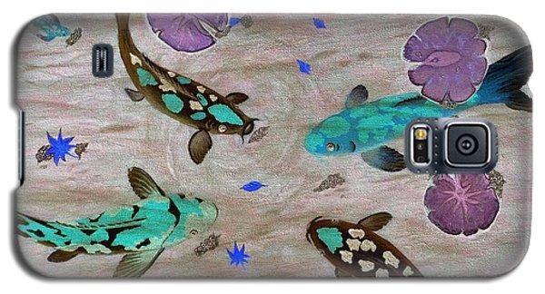 Koi Fish Feng Shui Galaxy S5 Case by Georgeta  Blanaru