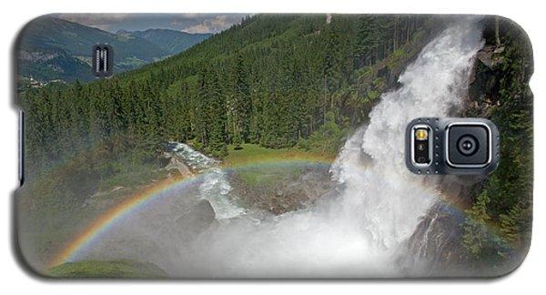 Krimml Waterfall And Rainbow Galaxy S5 Case