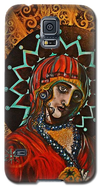 Lady Of Spades Galaxy S5 Case by Sandro Ramani