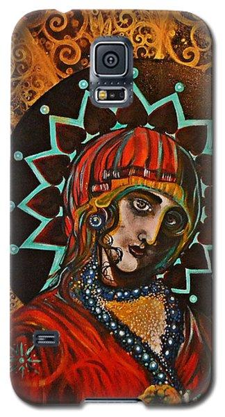 Lady Of Spades Galaxy S5 Case by Sandro Ramani