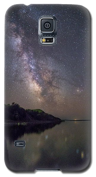 Galaxy S5 Case featuring the photograph Lake Oahe  by Aaron J Groen