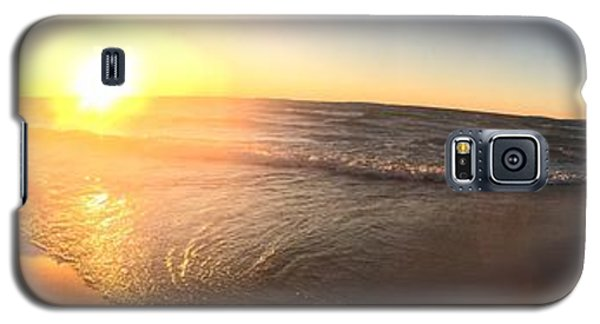 Galaxy S5 Case featuring the photograph Lake Superior Fall by Paula Brown