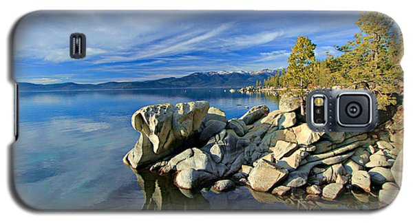 Lake Tahoe Rocks Galaxy S5 Case