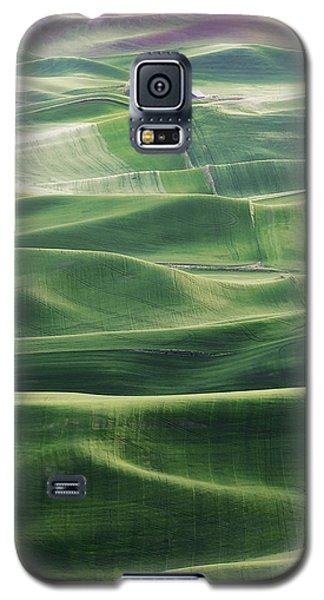 Land Waves Galaxy S5 Case by Ryan Manuel