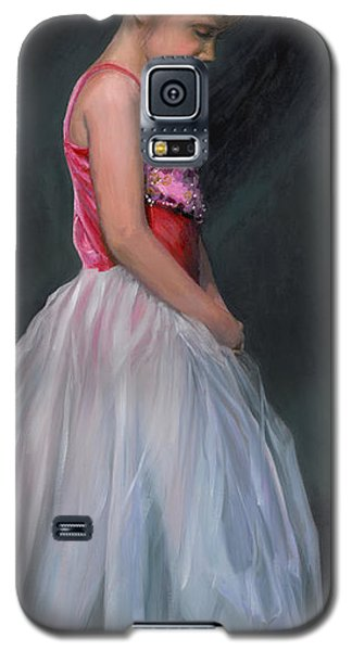 Galaxy S5 Case featuring the painting Lauren Grace by Doug Kreuger