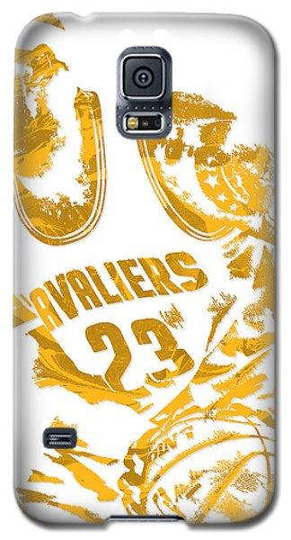 Lebron James Cleveland Cavaliers Pixel Art 7 Galaxy S5 Case