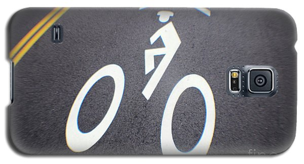 Life In The Bike Lane Galaxy S5 Case
