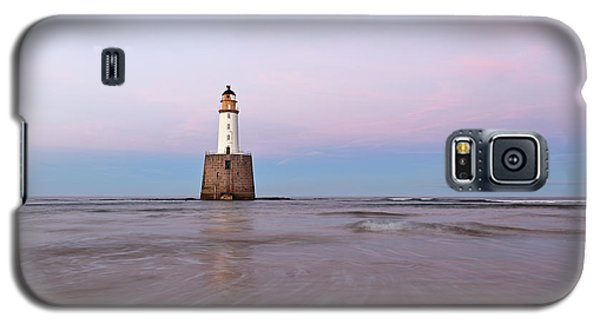 Galaxy S5 Case featuring the photograph Lighthouse Sunset by Grant Glendinning
