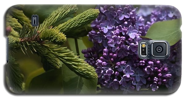 Lilacs In Bloom Galaxy S5 Case by Marjorie Imbeau