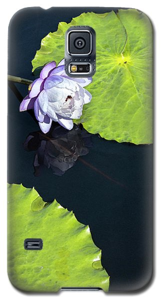 Galaxy S5 Case featuring the photograph Lily Love by Suzanne Gaff