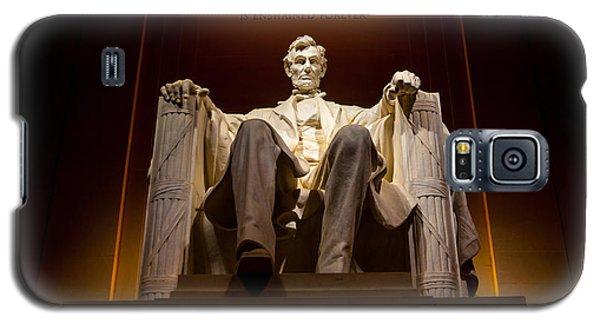Lincoln Memorial At Night - Washington D.c. Galaxy S5 Case