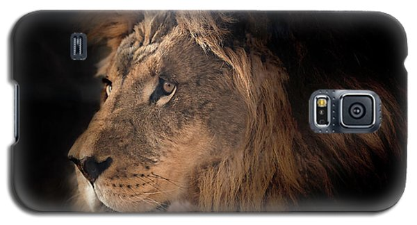 Lion King Of The Jungle Galaxy S5 Case