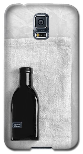 Galaxy S5 Case featuring the photograph Little Black Bottle  by Andrey  Godyaykin