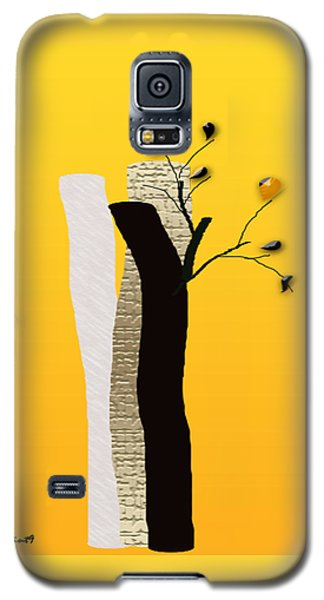 Log Flowers Galaxy S5 Case