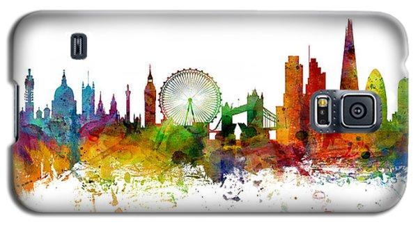London England Skyline Panoramic Galaxy S5 Case