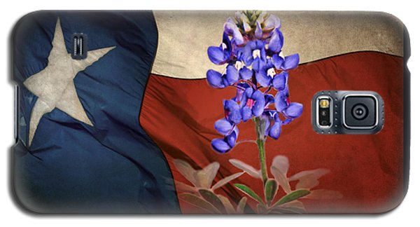 Lone Star Bluebonnet Galaxy S5 Case