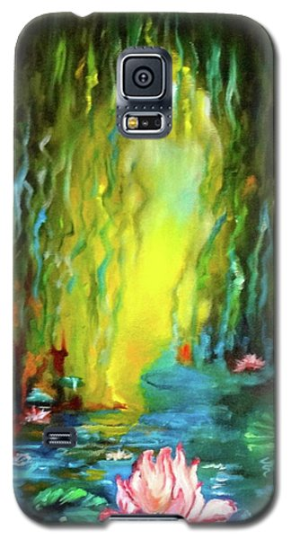 Lotus And Lily Pads Galaxy S5 Case